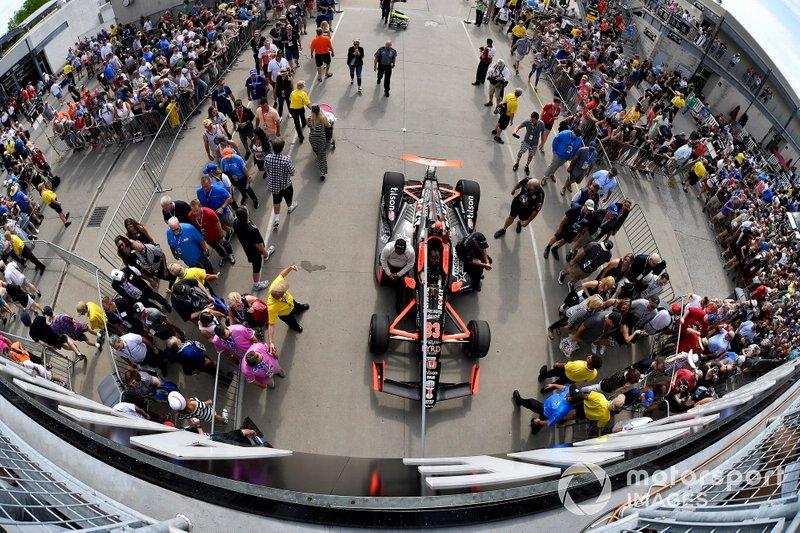 James Davison, Dale Coyne Racing Honda
