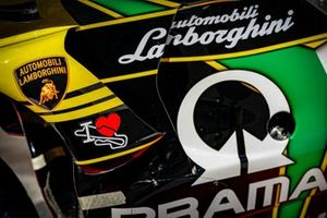 Bike von Francesco Bagnaia, Pramac Racing, im Lamborghini-Design