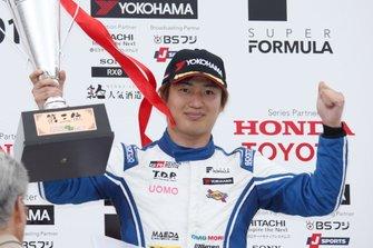 Podium: third place Kazuya Oshima, Team LeMans