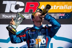 Podium: race winner Will Brown, HMO Customer Racing