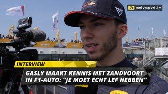 Pierre Gasly interview Jumbo Racedagen