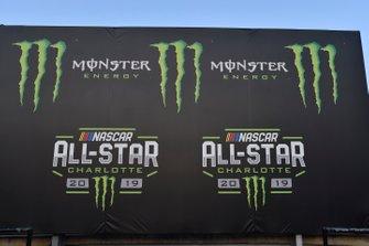 Monster signage