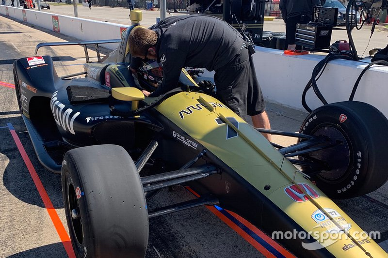 #7 Marcus Ericsson, Arrow Schmidt Peterson Motorsports, Arrow Schmidt Peterson Motorsports Honda