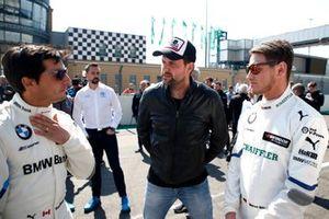 Bruno Spengler, BMW Team RMG, Matthias Killing, Sat1-TV, Marco Wittmann, BMW Team RMG