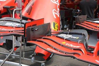 Ferrari SF90 voorvleugel detail