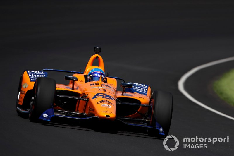 #66 Fernando Alonso, McLaren Racing, McLaren Racing Chevrolet