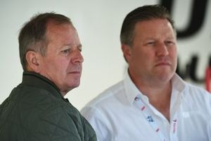 Martin Brundle, Zak Brown, United Autosports