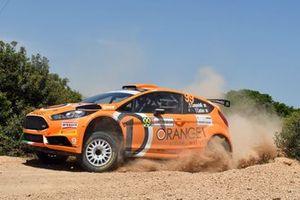Simone Campedelli, Tania Canton, Ford Fiesta R5, Orange1 M-Sport Rally Team