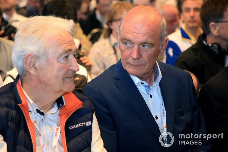 Hugues de Chaunac, ORECA, Dr. Wolfgang Ullrich