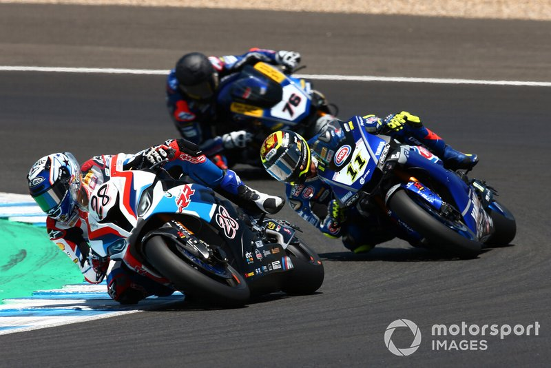 Markus Reiterberger, BMW Motorrad WorldSBK Team, Sandro Cortese, GRT Yamaha WorldSBK, Loris Baz, Althea Racing