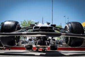 Alfa Romeo Racing C38 front detail