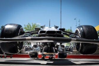 Alfa Romeo Racing C38 dettaglio parte frontale