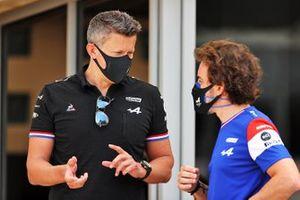 Marcin Budkowski, Fernando Alonso