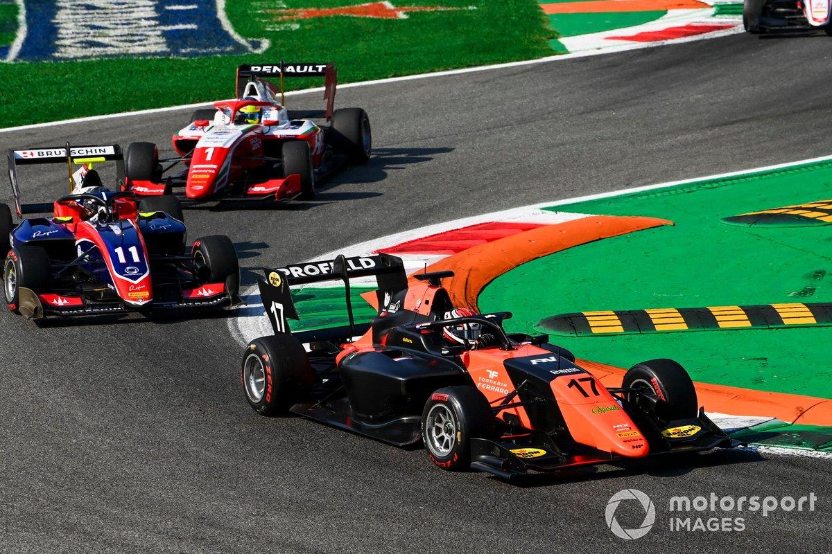 Richard Verschoor, MP Motorsport e David Beckmann, Trident