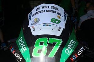 Un message pour Remy Gardner, SAG Racing de son équipe