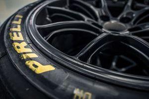 Pirelli tyres detail