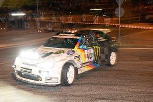 Ken Block, Alex Gelsomino, Hoonigan Racing, Ford Escort Cosworth