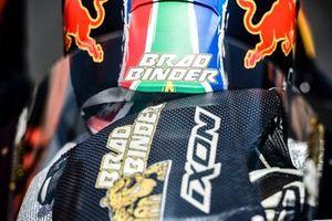 Brad Binder, Red Bull KTM Factory Racing , helmet