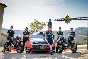 Luca Marini, Marco Bezzecchi, Sky Racing Team VR46, Umberto Scandola, Hyundai Motorsport, Celestino Vietti ed Andrea Migno, Sky Racing Team VR46