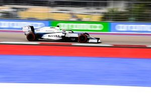 George Russell, Williams FW43 on track