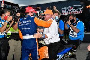 Scott Dixon, Chip Ganassi Racing Honda, and Chip Ganassi