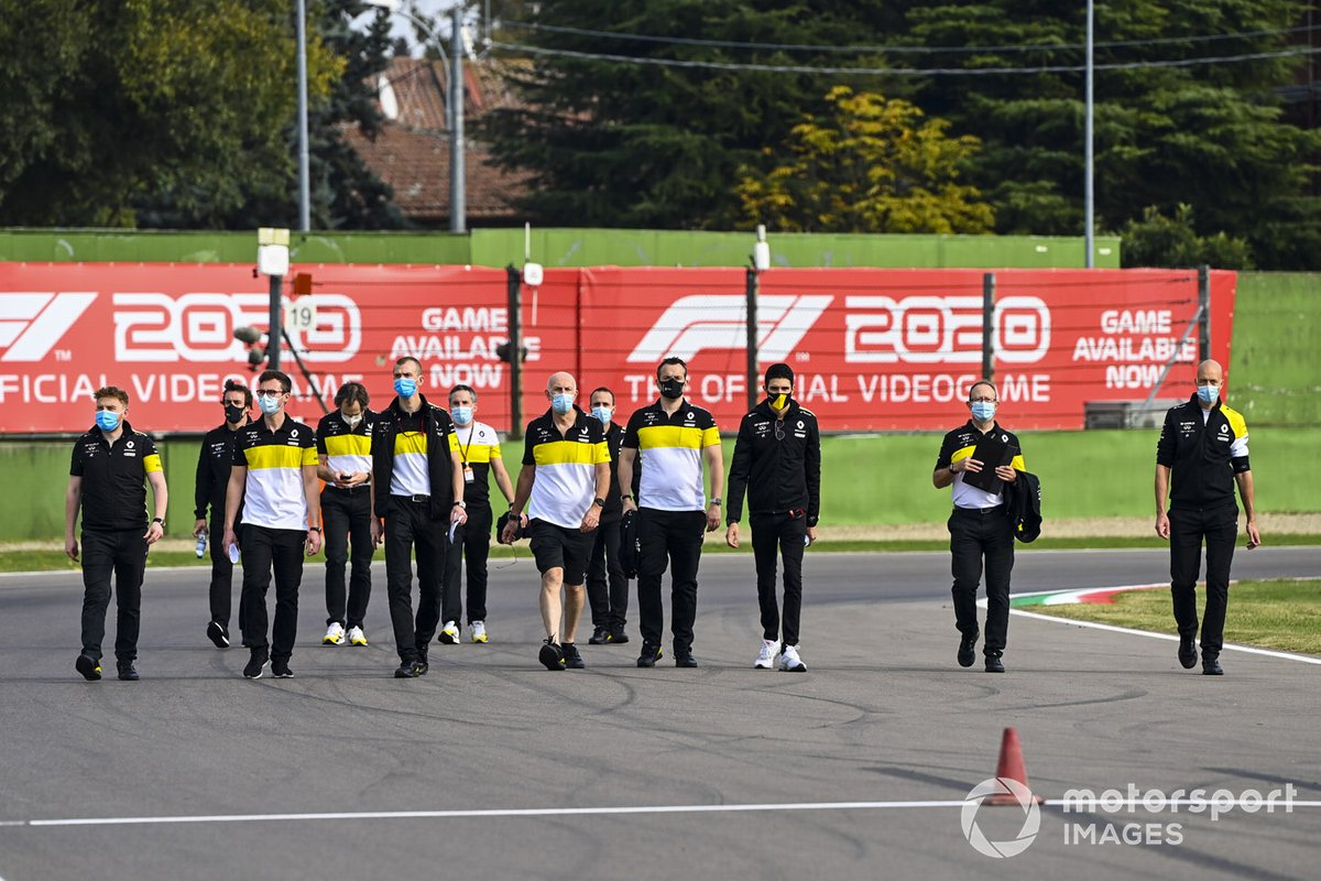 Fernando Alonso, Renault en Imola