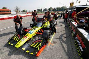 L'équipe de Santino Ferrucci, Dale Coyne Racing avec Vasser Sullivan Honda