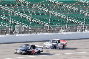 Tanner Gray, DGR-Crosley, Ford F-150 Ford Performance Tim Viens, CMI Motorsports, Chevrolet Silverado CMI Motorsports