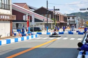 |準備が進むA1市街地グランプリ GOTSU 2020のコース