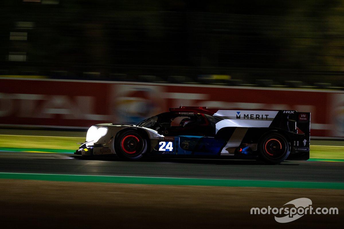 #24 Nielsen Racing - ORECA 07 - Gibson: Garret Grist, Alex Kapadia, Anthony Wells