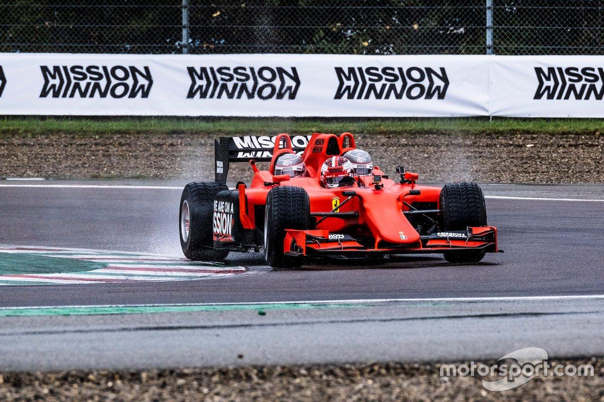 Der Ferrari-Dreisitzer in Fiorano