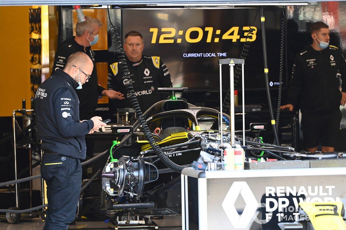 Detalle técnico del Renault F1 Team R.S.20