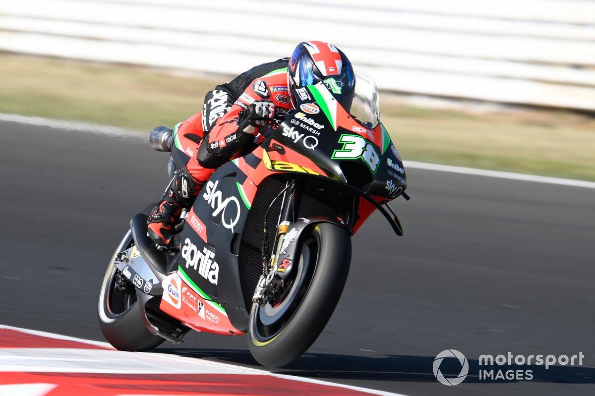 Bradley Smith, Aprilia Racing Team Gresini