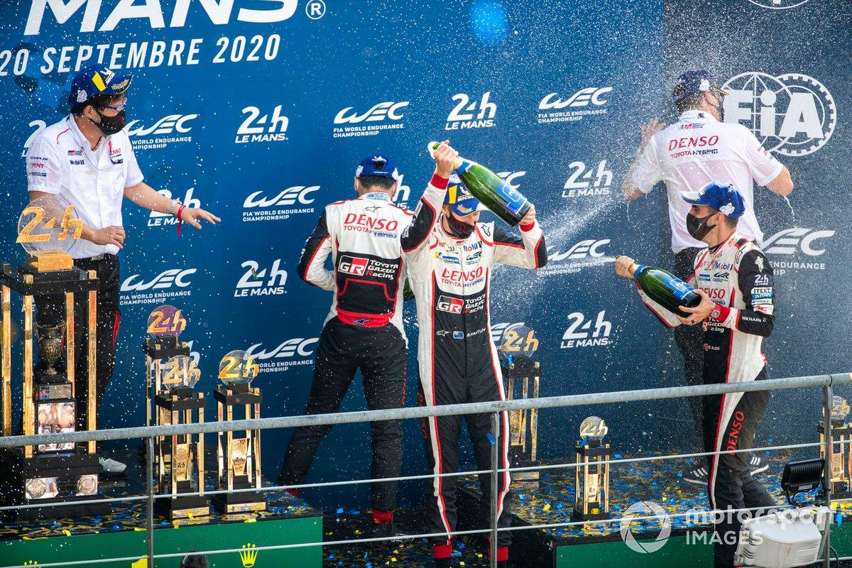 Sébastien Buemi, Kazuki Nakajima, Brendon Hartley