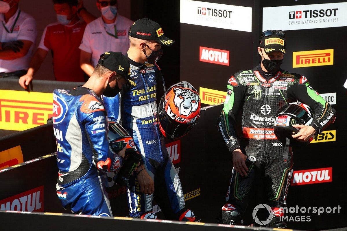 Michael van Der Mark, Pata Yamaha, Loris Baz, Ten Kate Racing Yamaha, Jonathan Rea, Kawasaki Racing Team