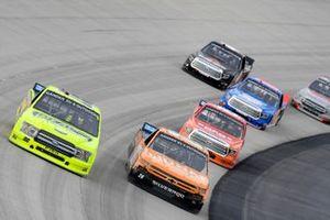 Matt Crafton, ThorSport Racing, Ford F-150 Ideal Door/Menards, Tyler Ankrum, GMS Racing, Chevrolet Silverado Liuna
