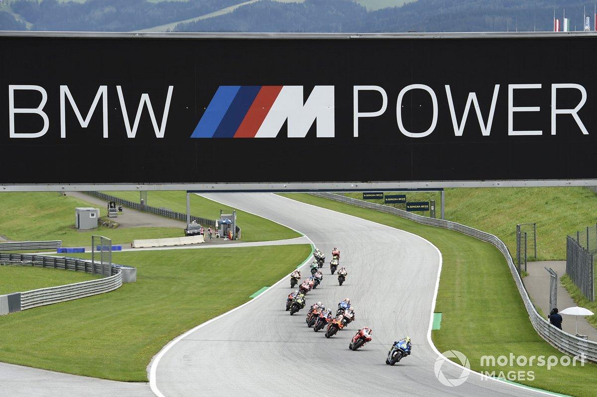 Joan Mir, Team Suzuki MotoGP en la resalida