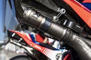 Pramac Racing exhausts detail