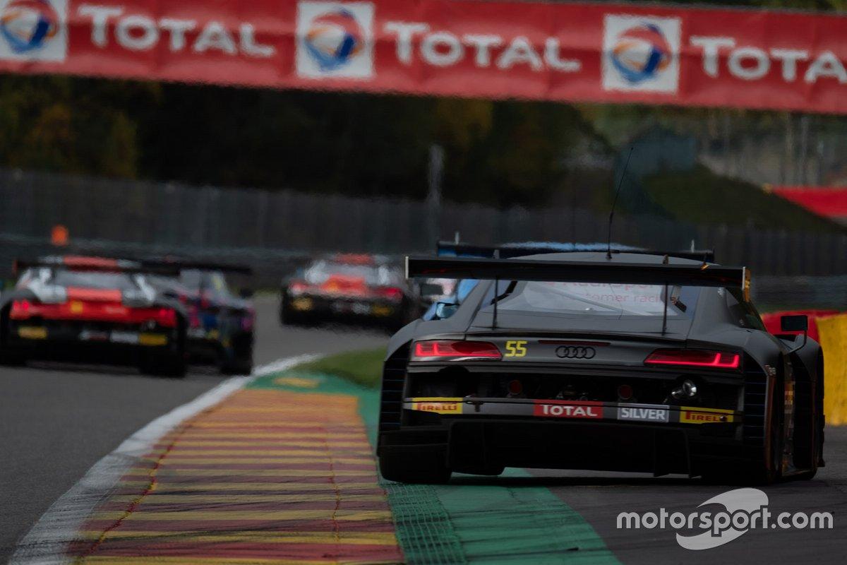 #55 Attempto Racing Audi R8 LMS GT3: Alex Aka, Nicolas Schöll, Finlay Hutchison, Kim-Luis Schramm