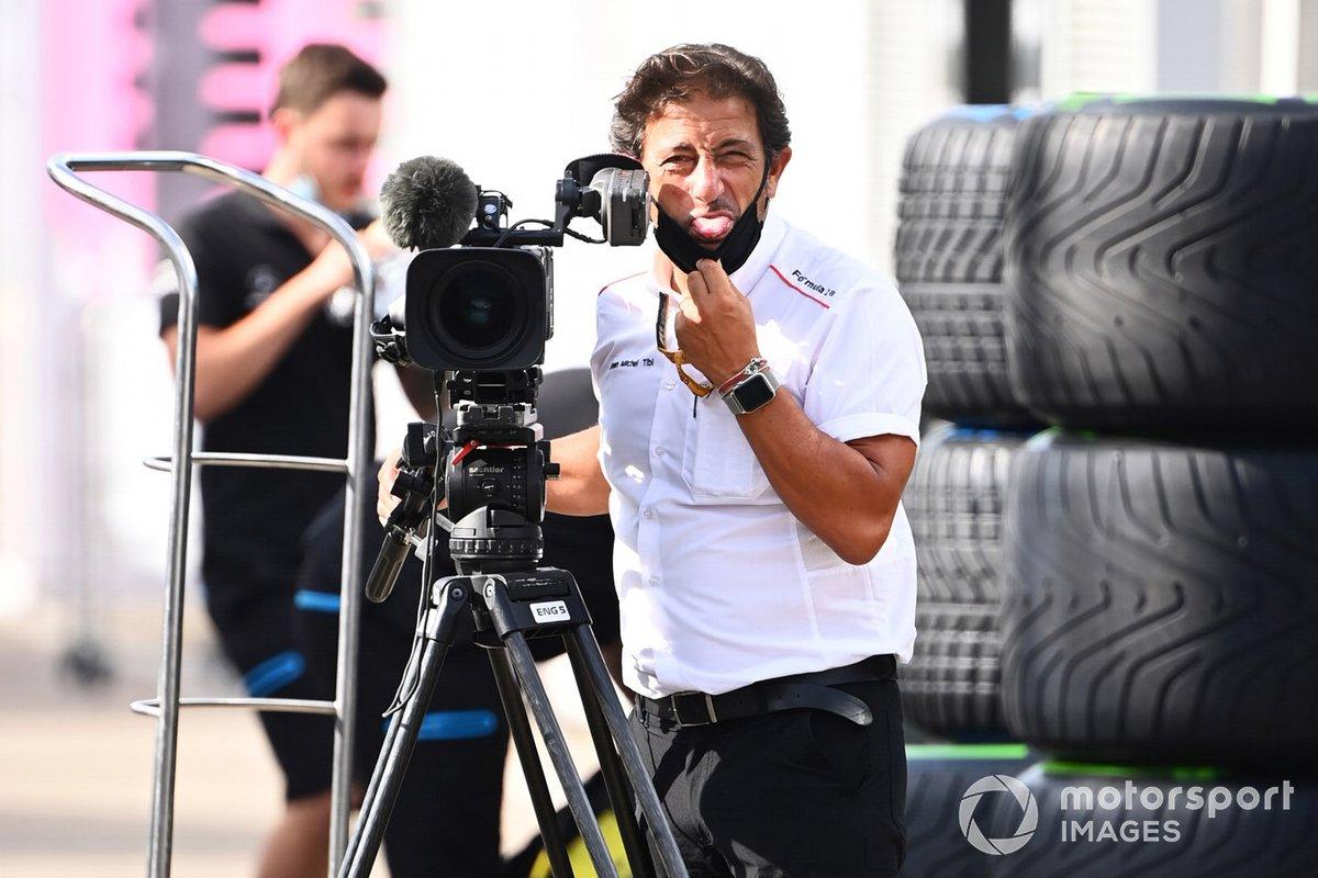 Jean Michel Tibi, cámara de TV