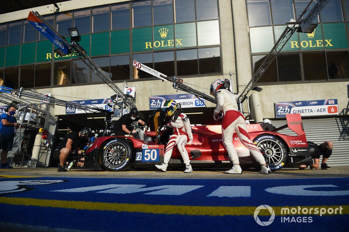 #50 Richard Mille Racing Team Oreca 07 - Gibson: Tatiana Calderon, Sophia Flörsch, Beitske Visser