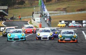 Corrida 1 na Porsche GT3 Cup