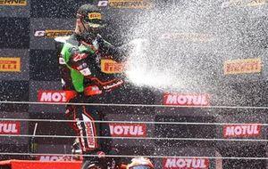 Podium: Jonathan Rea, Kawasaki Racing Team WorldSBK, WorldSBK