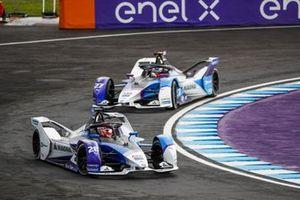 Maximilian Gunther, BMW i Andretti Motorsport, BMW iFE.21 Jake Dennis, BMW i Andretti Motorsport, BMW iFE.21