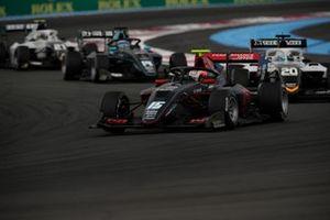 Oliver Rasmussen, HWA Racelab, devance Pierre-Louis Chovet, Campos Racing