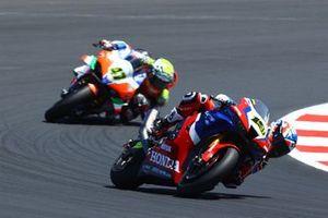 Alvaro Bautista, Team HRC, Axel Bassani, Motocorsa Racing