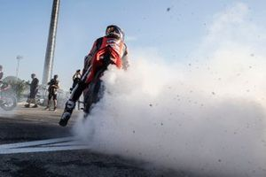 Michael Ruben Rinaldi, Aruba.It Racing - Ducati on the MWC square inuguration