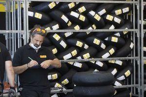 Pirelli tyres technician