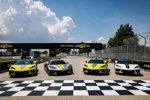 IMSA edition Corvettes