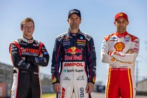 Will Brown, Erebus Motorsport Holden, Jamie Whincup, Triple Eight Race Engineering Holden, Anton de Pasquale, Dick Johnson Racing Ford